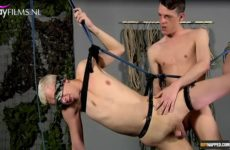 Twinks doorneuken in suspension kinky