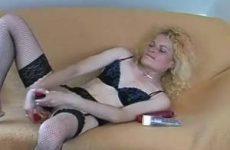Lekker mastuberen met meerdere sex speeltjes