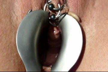 Te ranzige seks krioelende maden in poes