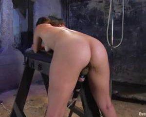 Haar eerste anaal klysma