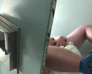 Stiekem gefilmt tijdens het aftrekken