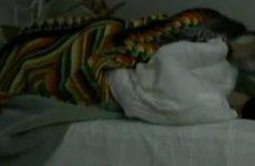 Webcam aan dekens omhoog en pijpen maar