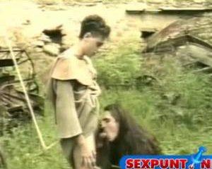 Geile gay pijp scene uit middeleeuwen