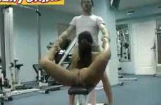 Neuken met een meid die super flexibel is heeft zo ze voordelen